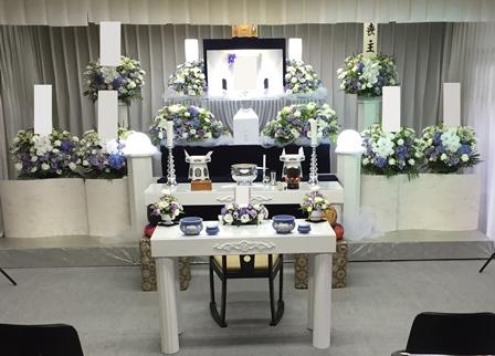 耕雲寺 【第2斎場(種月殿) 1日葬】 施行例